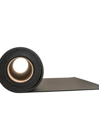Master - Gymgolv rulle, 8mm, 10m, Svart / Grå