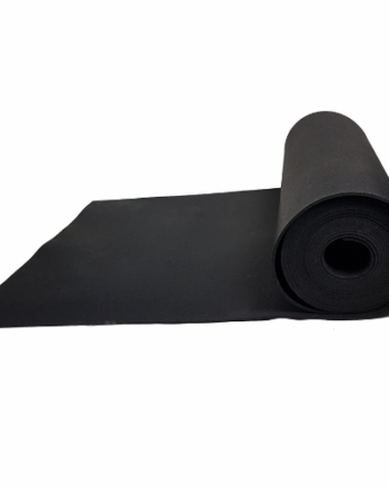 RUBBER MAT IN A PAVIROLL ROLL