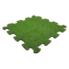 RUBBER MAT WITH ARTIFICIAL GRASS PUZZEL
